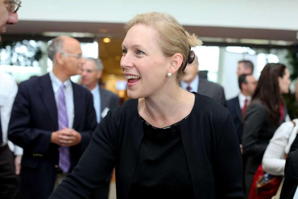 Sen. Kirsten Gillibrand will deliver the commencement speech