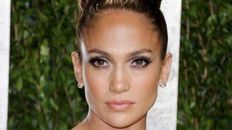 Actress and singer Jennifer Lopez arrives at a