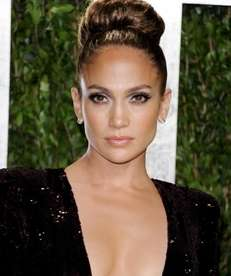 Actress and singer Jennifer Lopez arrives at a