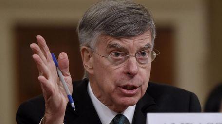 Top U.S. diplomat in Ukraine William Taylor testifies