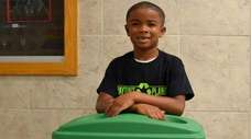 Payton Lewis, a second-grader at Deauville Gardens West