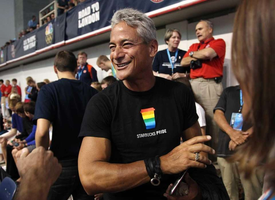 Greg Louganis wrote an autobiography