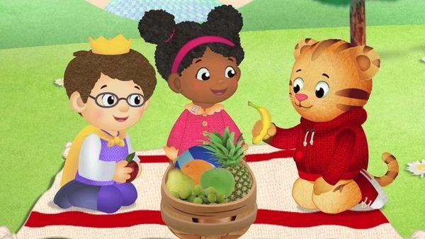 """Daniel Tiger's Neighborhood"" is the first TV show"