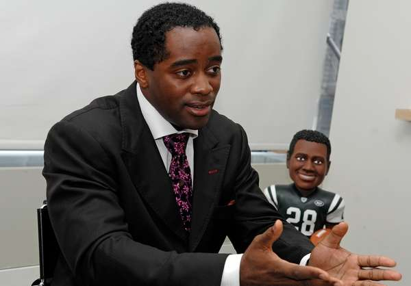 Curtis Martin, the New York Jets all-time leading