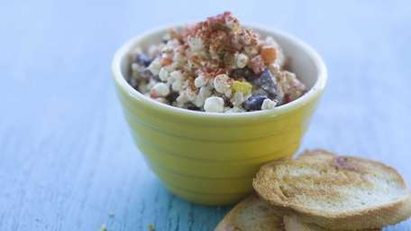 Cottage cheese pepper dip. (July 3, 2012)