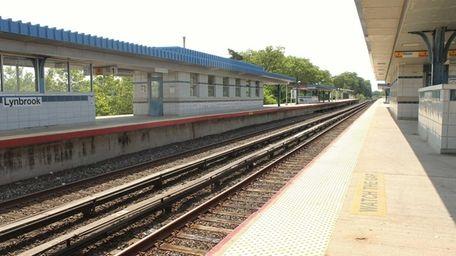The Lynbrook Long Island Rail Road station is