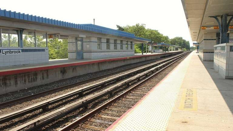 The Lynbrook Long Island Rail Road station is