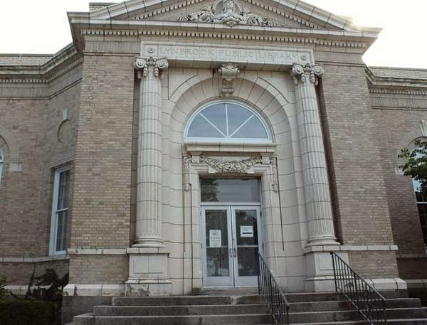 The Lynbrook Public Library is located at 56