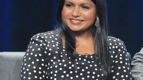 """Creator/executive producer Mindy Kaling speaks onstage at """"The"""