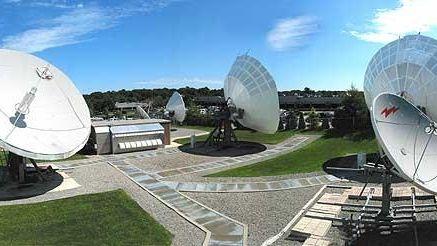 Globecomm headquarters in Hauppauge.