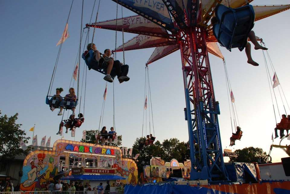 "The ""Sky Flyer"" at the Minnesota State Fair."