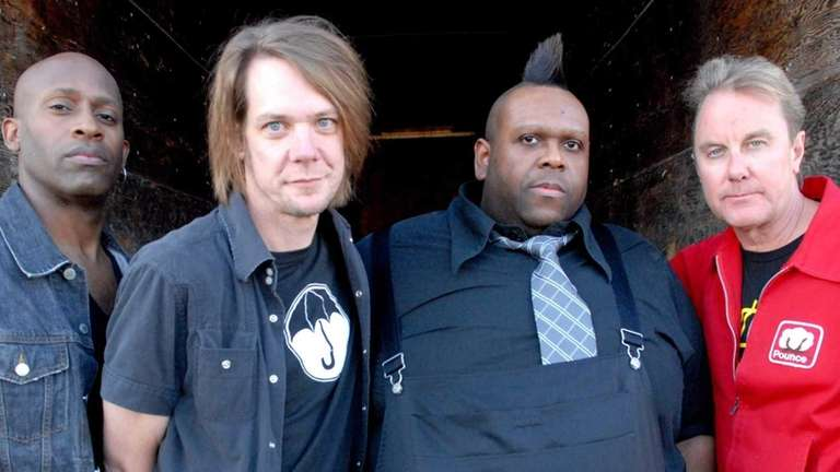 The indie-rock band Soul Asylum, from left, Winston
