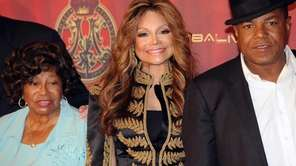 LaToya Jackson, center, and her mother Katerine Jackson