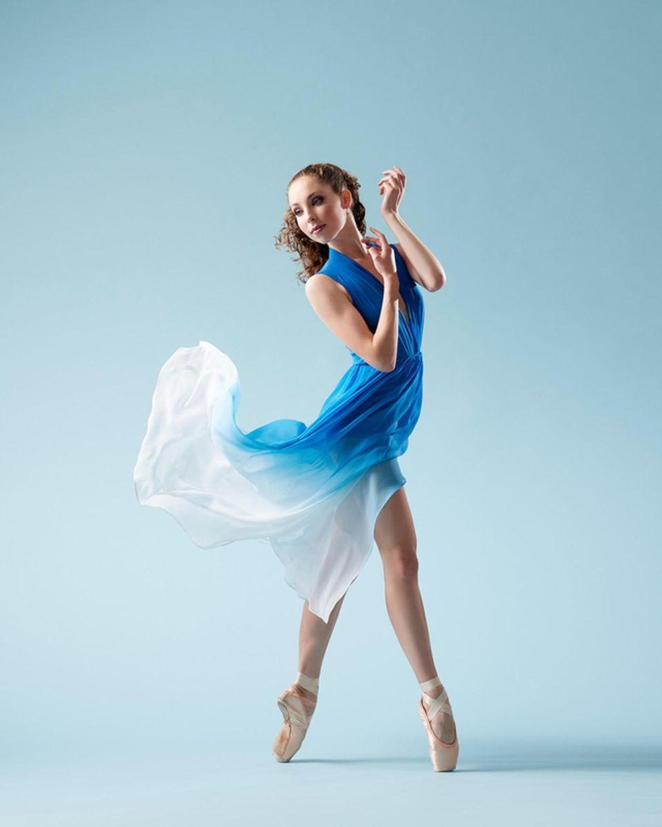 Emily can be seen volunteering at Dancing Dreams,