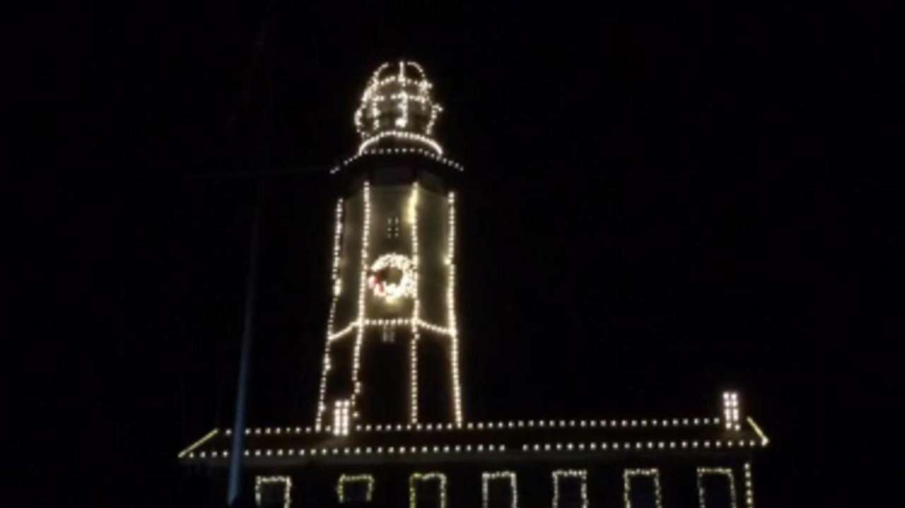 The Montauk Point Lighthouse's 6th annual lighting ceremony,