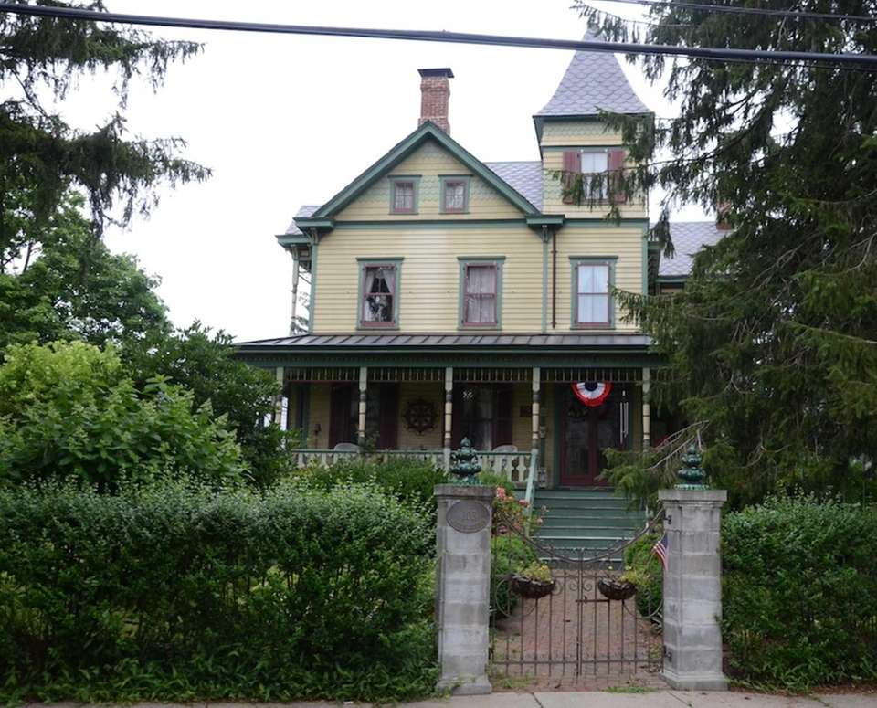 This Queen Anne-style home, at 103 Roslyn Ave.
