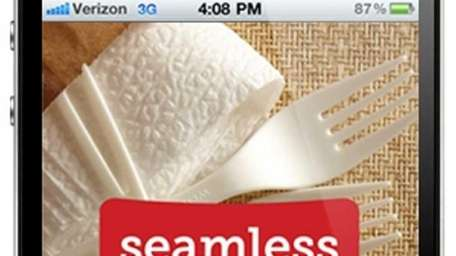 Seamless Food is one of the apps for