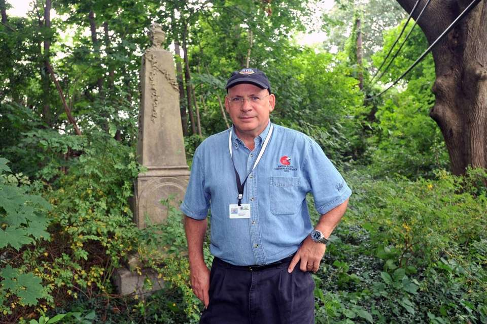 Town of North Hempstead historian Howard Kroplick in