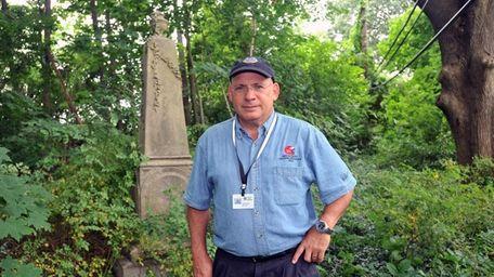 Town of North Hempstead historian Howard Kroplick in
