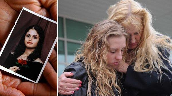 Left, Jennifer Pottinger, who was the foster mother