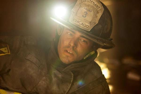 "Taylor Kinney as Kelly Severide in ""Chicago Fire."""