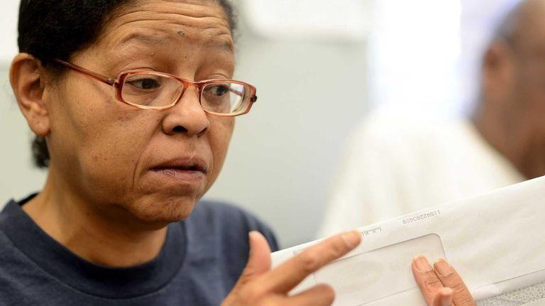 Monique Eyette Bell, 50, of Glen Cove, who