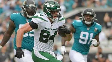 New York Jets tight end Ryan Griffin (84)