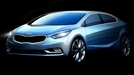 2013 Kia Forte. Expect to see it in
