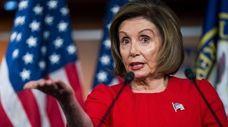 House Speaker Nancy Pelosi on Thursday.