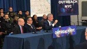 New York City Mayor Bill de Blasio has