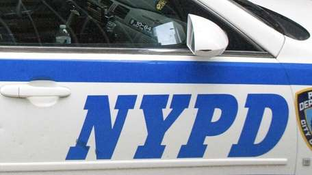 A file photo of an NYPD vehicle.