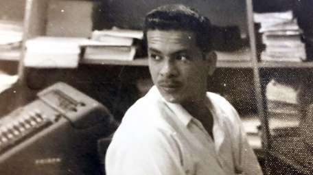 The reporter's grandfather, Clodomiro de Los Reyes Lopez,