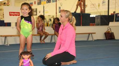 Nastia Liukin, five-time Olympic medalist and gymnast at
