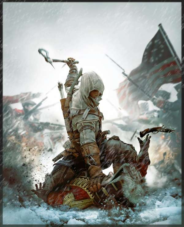Play as Ratonhnhake:ton, also known as Connor Kenway