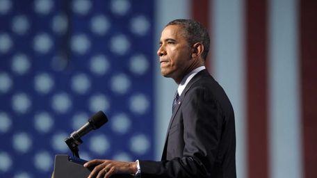 President Barack Obama speaks at the 113th National