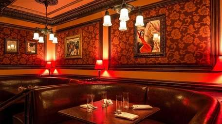 With its bootlegger-chic decor, 54 Below, seen in