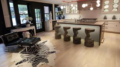 The kitchen designed by Keith Baltimore at the