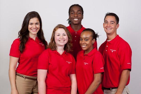 Bank of America Long Island Student Leaders, clockwise