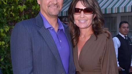 Todd and Sarah Palin in Beverly Hills at