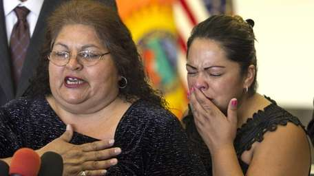 Genevieve Huizar, mother of Manuel Diaz, who was
