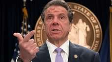 Gov. Andrew M. Cuomo on May 12.