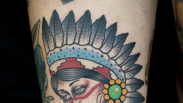 Myke Chambers is a tattooist from Philadelphia and