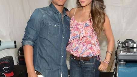 Shay Mitchell and Connor Cruise kick off American