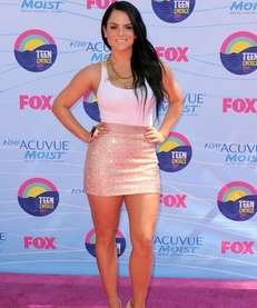 Pop singer JoJo at the 2012 Teen Choice