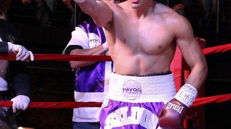 Long Island boxer Cletus Seldin
