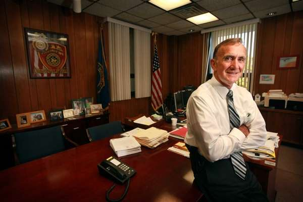 Newly-appointed Suffolk County Police Commissioner Edward Webber at