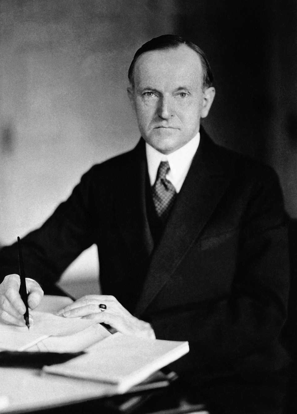 Calvin Coolidge was vice president under President Warren