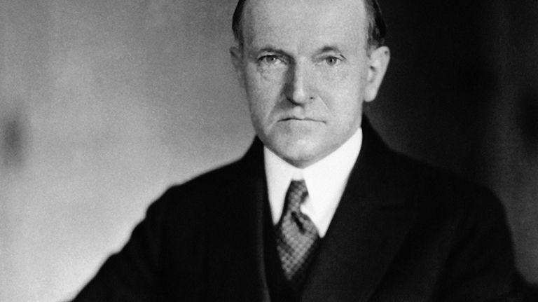Calvin Coolidge was vice president under President Warren