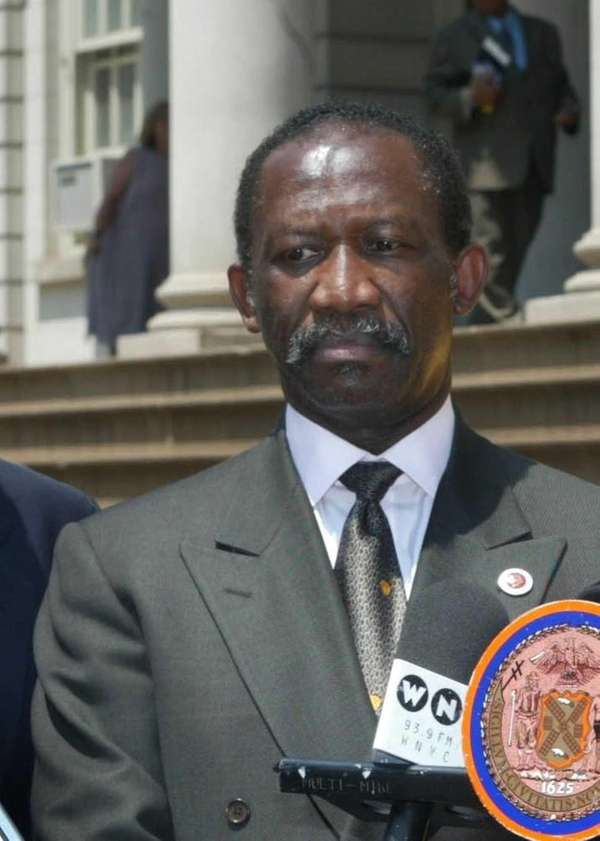 Ex-New York City Council member Larry Seabrook during