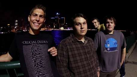 Band: Tomahawk Chop, formed in 2008 Members: Dan